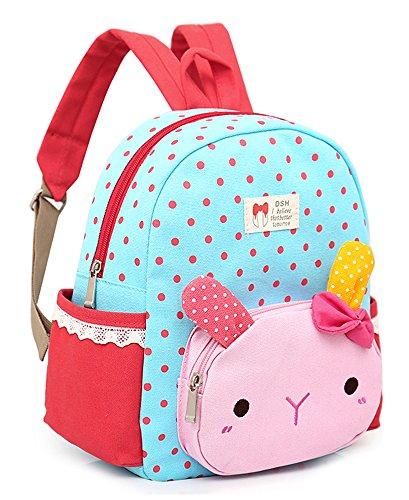 Imagen de  infantil zoo tela gato animales preescolar niños saco viajar lindo niña bambino lona algodón alternativa