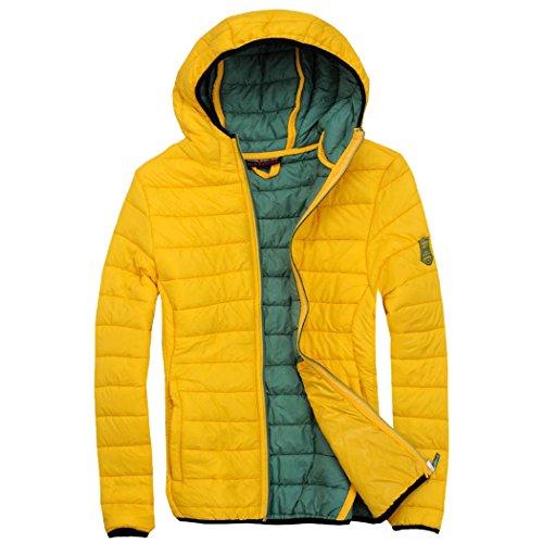 Abbigliamento giacca da donna SPORT EXUMA gonfiato Giallo - giallo