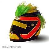 Helm - Irokese für den Motorradhelm, Skihelm, Snowboardhelm, Fahrradhelm oder Kinderhelm - Coole...
