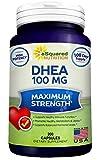 Pure DHEA (100mg Max Strength, 200 Capsu...