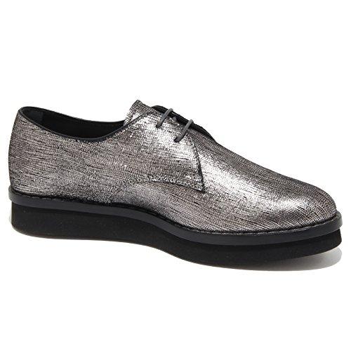 6351N scarpa allacciata TOD'S argento scarpe donna shoes women Argento