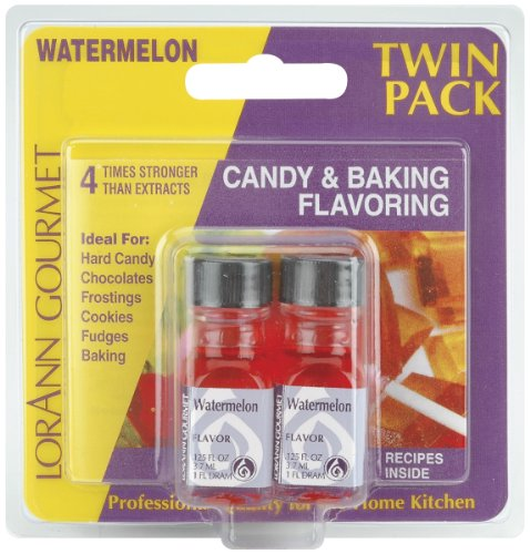 Watermelon Candy & Baking Flavoring .125 Ounce Bottle 2/Pkg FLAVOR-260 -