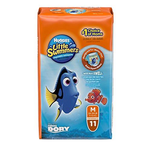Huggies little swimmers size 5511pezzo (s)–pannolino, disposable diaper, multi)