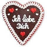 Lebkuchenherz - 21cm - Ich liebe Dich