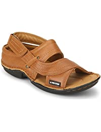 Red Chief Tan Casual Sandal For Men RC0247 006 Size - 11 (UK/India)