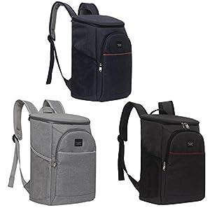 Kühlrucksack Lunch Picknicktasche, Isolierte Tasche Eisbeutel Lecksicher Große Kapazität Lunch Tasche, zur Arbeit und Schule