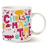 Questo può essere vino unico tazza da caffè divertente Babbo Natale regali di Natale-Christmas Time tazza di ceramica, bianco 396,9gram