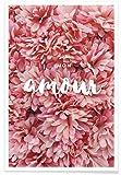 JUNIQE® Affiche 20x30cm Fleurs Citations d'amour - Design 'Mon Amour' (Format : Portrait) - Poster, Tirages d'art & Tableaux par des artistes indépendants - Art romantique autour de l'amour - créé par Miles of Light