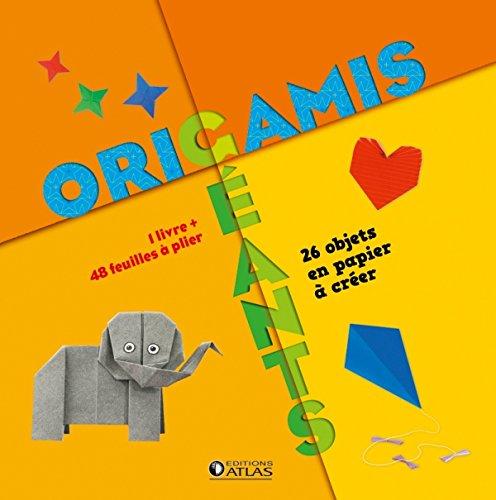 Origamis géants: 28 objets en papier à créer