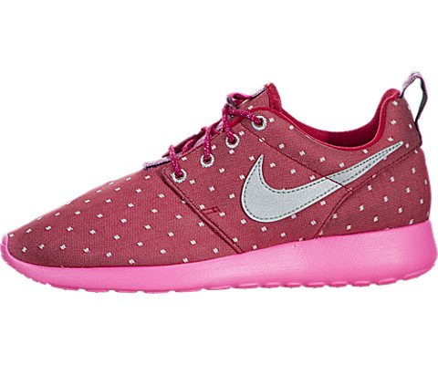 nike rosherun print (GS) trainers 677784 sneakers shoes (uk 4.5