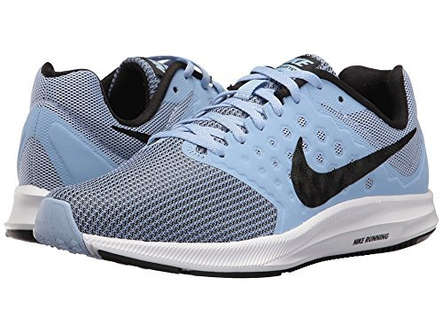 Nike Downshifter 7, Scarpe Sportive Indoor Donna Blu (Aluminum/black-white)