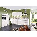 Wohnorama Einbauküche seidengrau inkl. Elektrogeräte und Einbauspüle