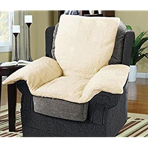 Chair Nest with FLEECE Cover – Armchair/Furniture/Wheelchair Cushion – Super Warm & Cosy