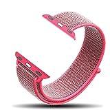 Corki Apple Watch Armband 38mm, Gewobenes Nylon Sport Schlaufe Handgelenk Uhrband Ersatz Armreif...
