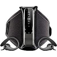 Energy Sistem Active 2 - Reproductor MP3 de 8 GB (radio FM, auriculares deportivos, brazalete) color negro