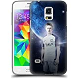 Official Manchester City Man City FC De Bruyne Power Players Hard Back Case for Samsung Galaxy S5 mini