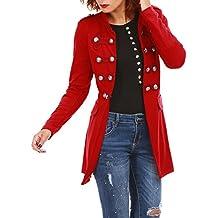 Modeuse Femme Vestes S Taille Rouges Longues Manches La À 8ZwrIq8