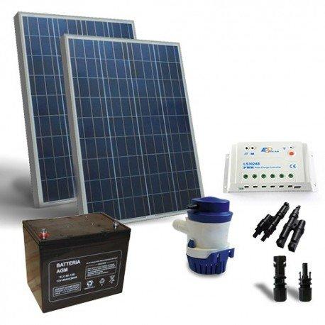 Kit Solare Irrigazione 94 l/m 12V Pannello