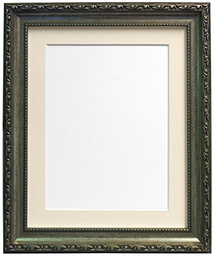 frames-by-post-picture-photo-frame-with-ivory-mount-for-a5-picture-size-silver-30-mm-wide-10-x-8-inc