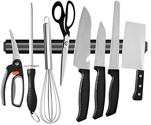 ouddy 55,9cm magnetisch Messer BAR, magnetischer Messerhalter Streifen, magnetischer Küchen Messer Halter, Messer Rack Strip (Küche Bar Warenkorb)