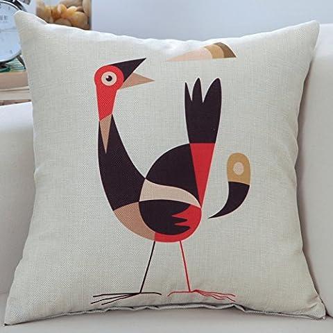 Yifom Almohada almohada sofá jarrón con core automotriz almohadas cama dormitorio lumbar,55*55cm.