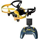 kingtoys® RC Drone JXD 512W Mini UFO WiFi FPV 0.3MP CAM 2.4G 4 Canales Quadcopter 6 Ejes Giroscopio Amarillo