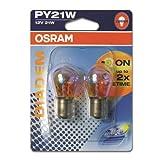 JOM 583012 12V/21W PY21W BAU15, Osram Diadem, Blinkerlampen im Doppelblister
