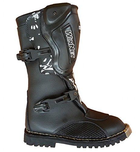 Stivali per mini moto da cross bimbo bambino minimoto