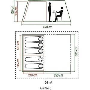 coleman waterproof galileo unisex outdoor tunnel tent