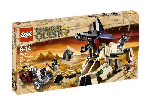 LEGO Pharaoh Quest Rise Of The Sphinx 7326 non-release in Japan (japan import)