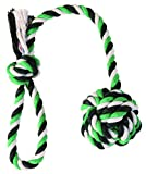 Trixie Cuerda de Juego con Bola, ø5.5 cm, 30 cm