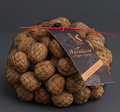 Walnüsse 1 Kg ganz mit Schale, sehr gute Qualität, aus Spanien, mild und frisch! Zufrieden oder Rückerstattung ;-) - 1 Walnuss