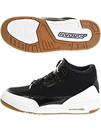 finest selection 8d055 5e444 Nike Air Jordan 3 Retro GS Hi Top Trainers 441140 Sneakers Scarpe