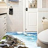 Aufkleber,Resplend 3D Floor/Wall Wandaufkleber DIY Wandtattoo Removable Mural Decals Wandbilder Vinyl Wanddeko Art Wandsticker Living Room Decors Tapete (MehrfarbigA)