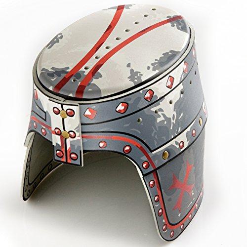 Liontouch 150LT Mittelalter Malteser Kreuz Ritter Spielzeug Schaumstoff Helm für Kinder | Teil von Kostüm mit Schwert
