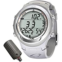 Oceanic Atom 3.1 Scuba Diving Computer with Transmitter All White