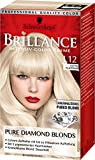 Brillance Intensiv-Color-Creme L12 Ultra Platinum Pure Diamond Blonds, 3er Pack (3 x 165 ml)
