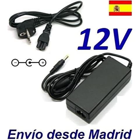 Cargador Corriente 12V Reemplazo Disco Duro Lacie 4big Quadra USB 3.0 Recambio Replacement
