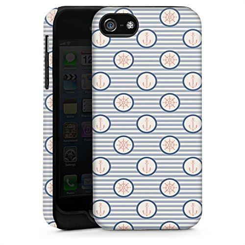 Apple iPhone 6 Housse Étui Silicone Coque Protection Marine Été Navigation Cas Tough brillant
