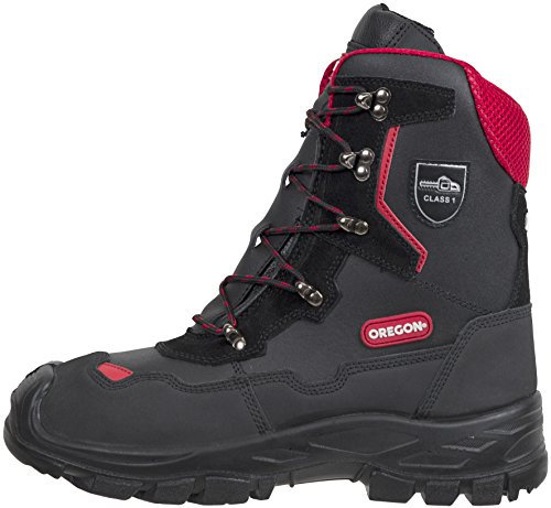 These chainsaw boots come in at mid-range price and they have plenty of convincing goodies. You can trust the leather uppers will last for years while the outsoles can take you places that you won't dare with regular shoes. We also like the lightweight construction that ensures fatigue-free working. These boots have been approved by professional loggers and it's hard to point out a figure at any negatives. Go for them any day.