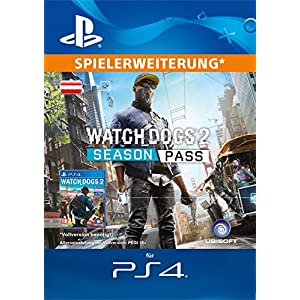 Watch Dogs 2 – Season Pass [PS4 Download Code – österreichisches Konto]
