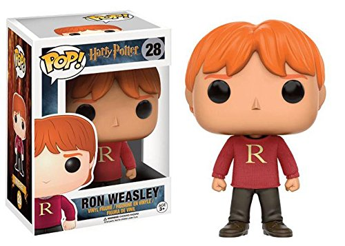 Funko Pop Ron con Jersey Navidad (Harry Potter 28) Funko Pop Harry Potter