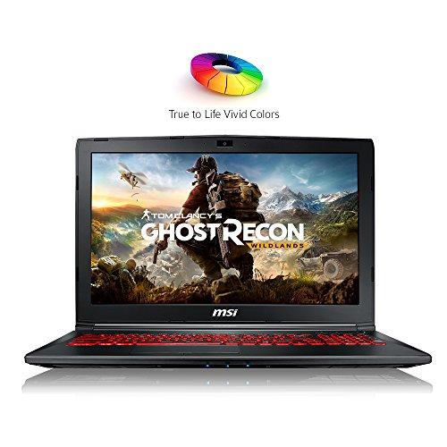 MSI GL62M-7RDX Laptop (Windows 10 Home, 8GB RAM, 128GB HDD) Red & Black Price in India