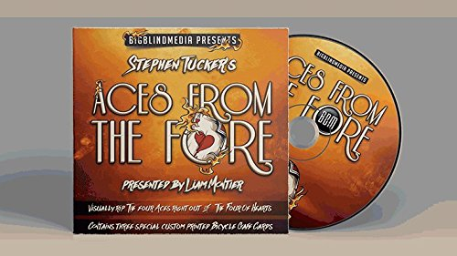 Stephen-Tuckers-Aces-From-The-Fore-Gimmicks-and-DVD-DVD-DVD-und-Didaktik-Zaubertricks-und-props