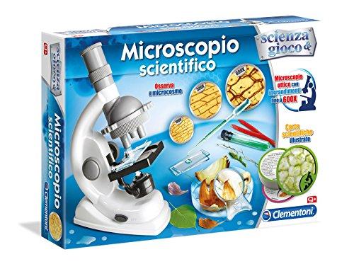 Clementoni Kit wissenschaftlichen wissenschaftliches Mikroskop Mehrfarbig