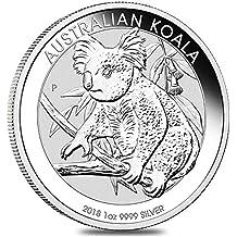 Australian Koala 2018 1 OZ (G.) Plata 999 Silver Coin Cápsula ...