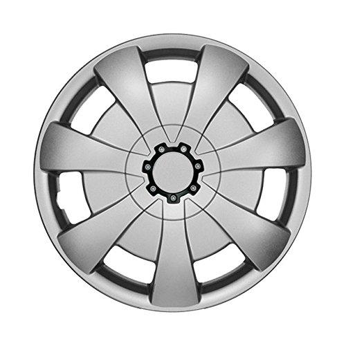 14 Zoll Radkappen ALEX (Silber) passend für fast alle Fahrzeugtypen (universal)