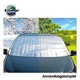 Thermo Windschutzscheibenabdeckung 190x68cm Aluminium Isolierfolie Frontscheibe