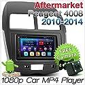 Tunez 17,8 cm Android Auto-Player für Peugeot 4008 Citroen C4 Aircross XA XB Mitsubishi ASX 3. Generation 2010–2014 Stereo Radio GPS MP4 MirrorLink DAB+ Faszien-Kit