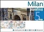 Milan Popout Map - handy pocket size...